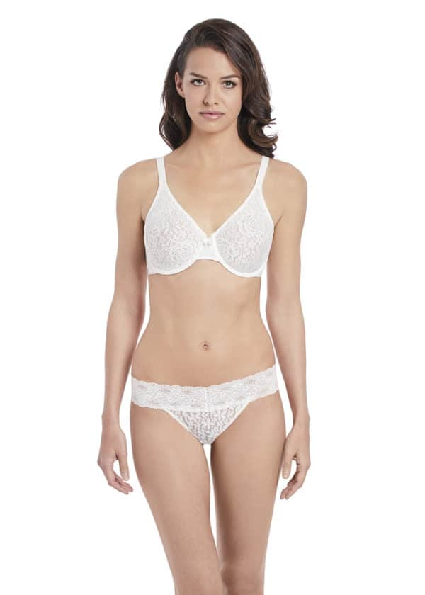 wacoal halo lace underwire moulded bra