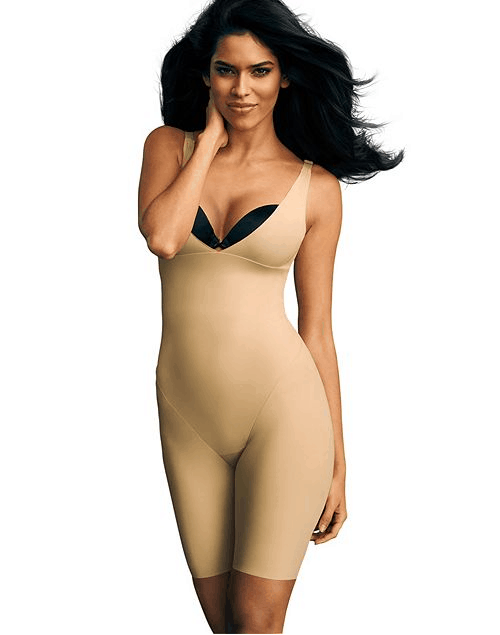 Maidenform open bust body shaper