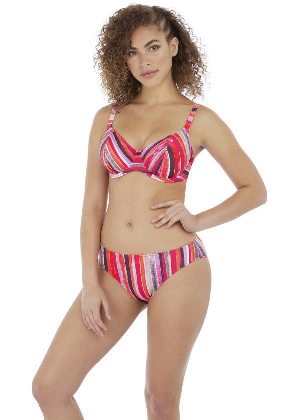Freya Bali Bay Summer Multi UW Plunge Bikini Top