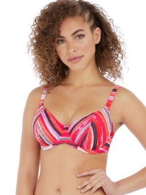 Freya Bali Bay Sumer Multi UW Plunge Bikini Top