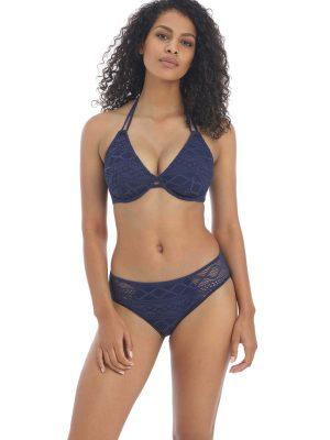 sundance Denim Uw Halter Bikini Top
